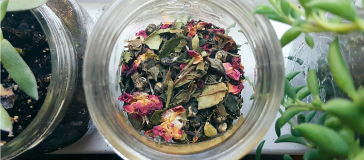 Full Moon Tea Blend Recipe | The Witch of Lupine Hollow
