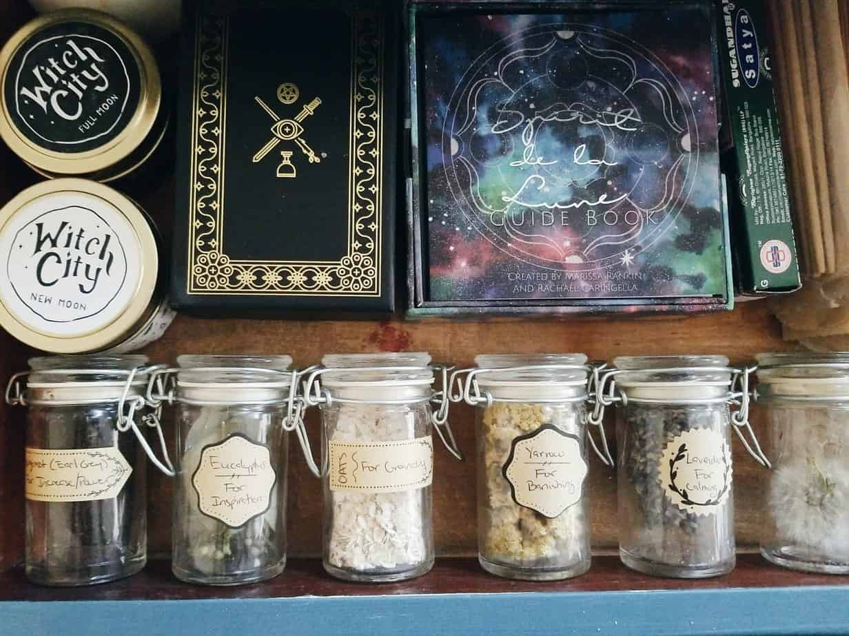 Pagan Altar Tour | The Witch of Lupine Hollow