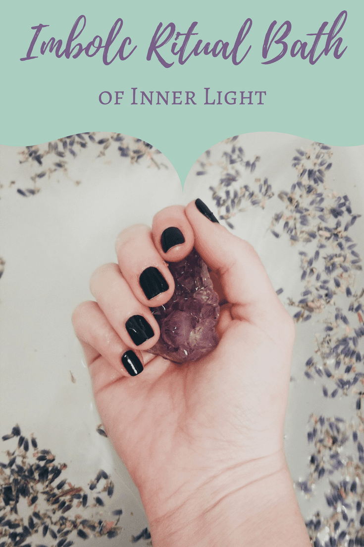 Imbolc Ritual Bath of Inner Light