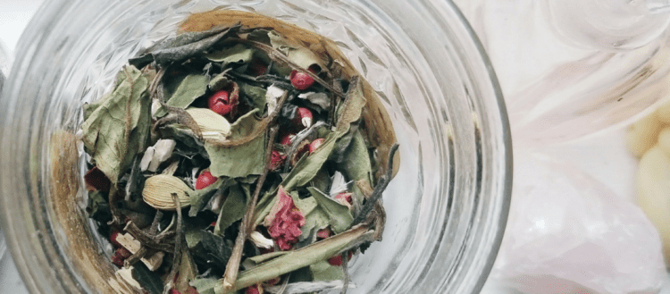 Love Potion Tea Blend Recipe just in time for Valentine's Day!