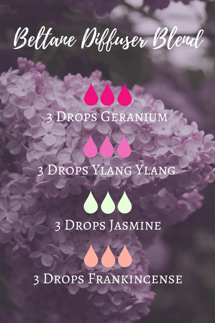Beltane Essential Oil Diffuser Blend The Witch Of Lupine Hollow