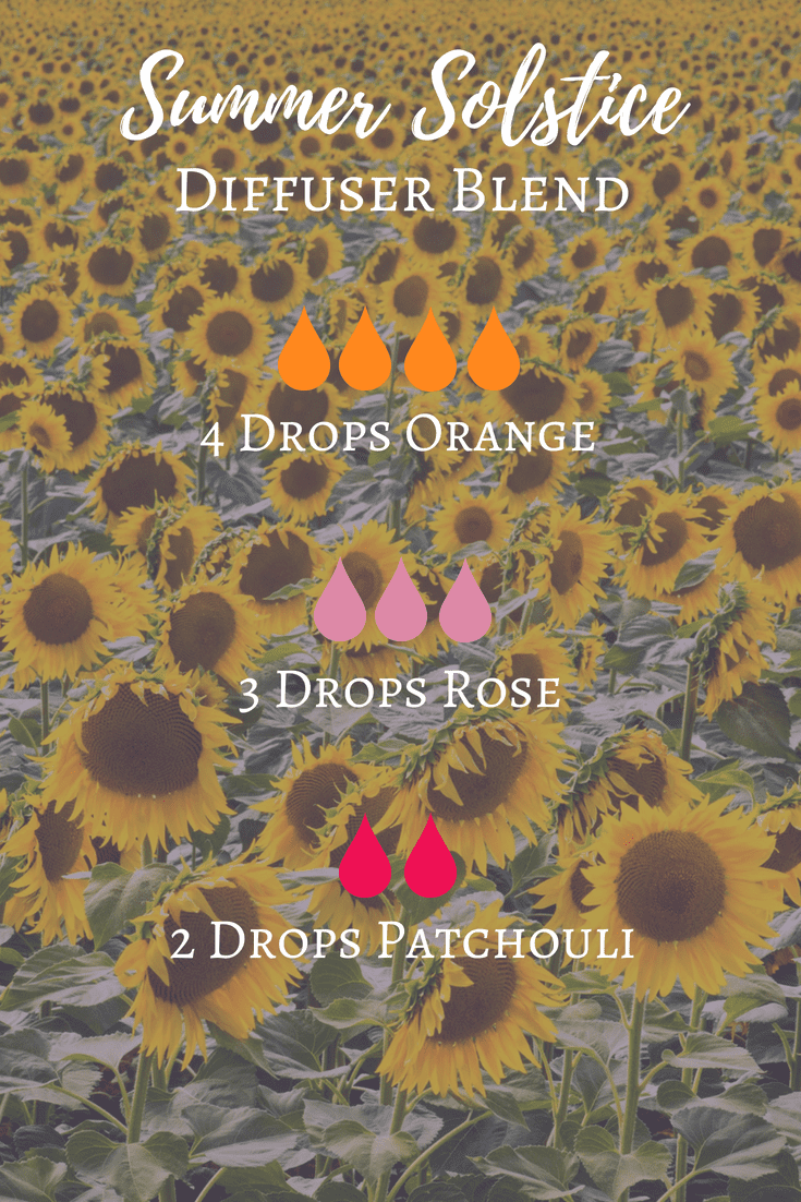 Summer Solstice Essential Oil Diffuser Blend The Witch Of Lupine Hollow