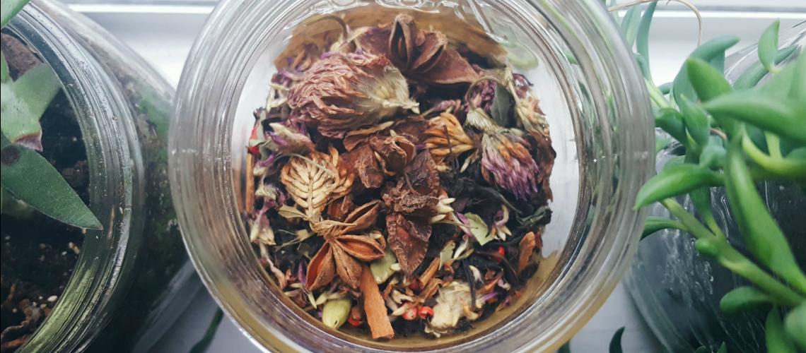 Waxing Moon Tea Blend